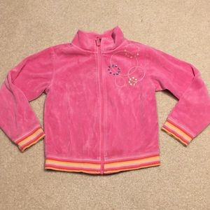 EUC Gymboree velour jacket